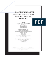 ADVANCES IN DISASTER MENTAL HEALTH AND PSYCHOLOGICAL SUPPORT - KAMHA.ORG