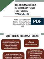 01.-Artritis Reumatoidea,Les,Vasculitis USS - TEORIA