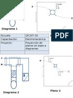 Proyección de Planos en Base a Diagramas