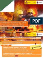 Campaña de prevención y lucha contra los incendios forestales 2010