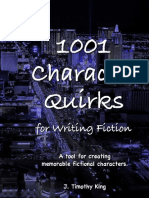 1001 Character Quirks