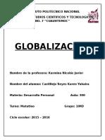 Globalizacion en Desarrollo Personal