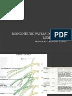 Mononeuropatias Del Plexo Lumbosacro.