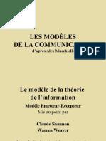 Les Modeles de La Communication
