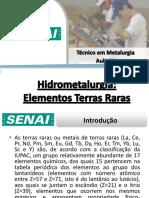 Aula 21 - Metalurgia Dos Elementos Terras Raras