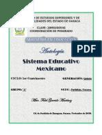 Sistema Educativo Mexicano. Antología