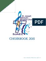 SJAEC Choirbook