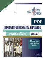 ALI 420-435 Clase 1 Pograma de Clases 07032017