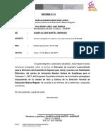 1er Informe - Alexis Martel Andrade