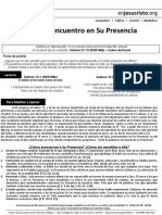 Todo Lo Encuentro en Su Presencia -HCV-Marzo14,2017
