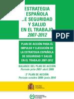 Balance estrategia española de seguridad y salud en el trabajo 2007-2012