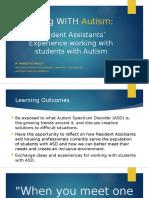 living with autism presentation - no videos
