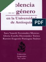 Violencia de Género Sara Fernández