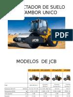 Compactador de Suelo de Tambor Unico