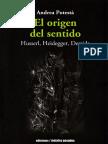 El origen del sentido_ Husserl, - Andrea Potesta.pdf