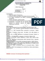 Guía de Estudio Teoría y Sociología Del Deporte
