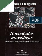 Delgado Manuel Sociedades Movedizas