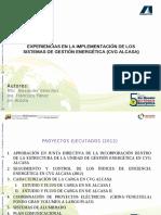 implementación de los Sistemas de Gestión Energética en CVG ALCASA