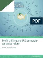 051016 Clausing Profit Shifting