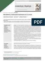 Microbioma y Traslocacion Bacteriana 2016