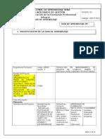 Guia de Aprendizaje Analisis de Riesgos de La Informacion
