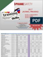 Jadwal Training Psi 2017