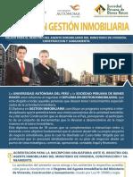 Brochure Diploma en Gestion Inmobiliaria