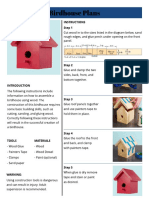 revised final birdhouse instructions 2