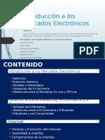 Introducción a Los Mercados Electronicos