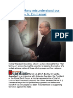 Sri Lanka Many misunderstood our advocacy — Fr. Emmanuel.docx