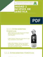 Unidad 1 Antecedentes Historicos de La Genetica
