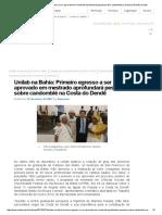 Unilab Na Bahia_ Primeiro Egresso a Ser Aprovado Em Mestrado Aprofundará Pesquisa Sobre Candomblé Na Costa Do Dendê _ Unilab