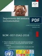 JGP- Seguimiento Del Embarazo Normoevolutivo