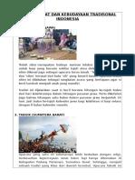 (Falah) Upacara Adat Dan Kebudayaan Tradisonal Indonesia