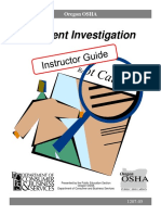 Accident Investigation Procedure