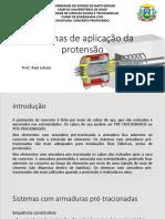 Aula 02 - Sistemas de Aplicação de Protensão