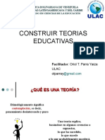 Construir Teoria Educativa.ppt