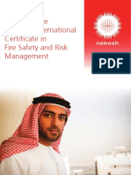 International Certificate in Fire Safety and Risk Management