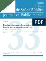 Dioxinas e Furanos