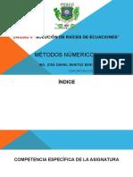 2.- METODOS NÚMERICOS