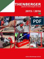 Rothenberger Catálogo Geral 2015 2016