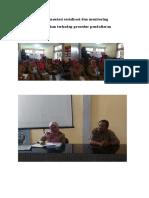 Dokumentasi Sosialisasi Dan Monitoring Kepatuhan Terhadap Prosedur Pendaftaran