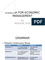 English for Economic Management