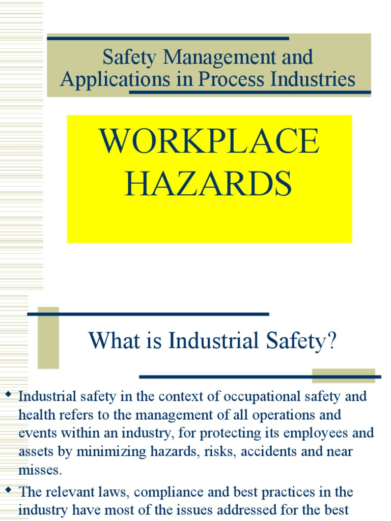 What Is A Time Weighted Average Definition From Safeopedia >> 3b Why Safety Workplace Hazards