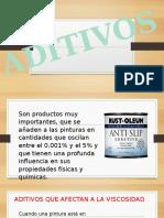 ADITIVOS PINTURA
