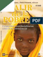 Libro Pobreza, Salir de la. Perspectivas interdisciplinarias.pdf