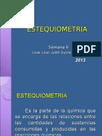 06. Estequiometria 2013
