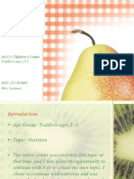nutrition thematic unit