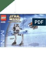 LEGO 4486 - Mini Snow Speeder