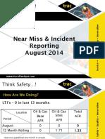 9 OG Near Miss Incident Reporting Sept